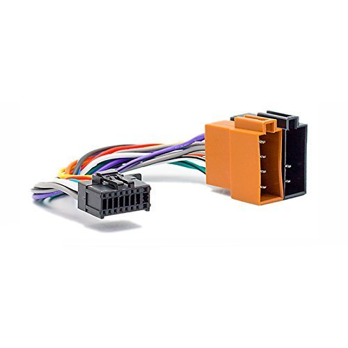 CARAV 15-107 ISO Autoradio Adapterkabel for Pioneer DEH-Series 2010+ (Select Models) 16-Pin(23x10mm) -  ISO(f)