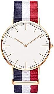 Top Luxury Brand Nylon Fashion Bracelet Quartz Watch Women Men Ladies Wrist Watch Wristwatches Clock Relojes Mujer Relogio