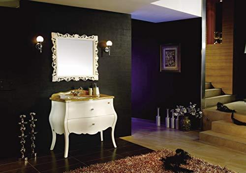 Bador Lavabo Design de Luxe en marbre et Miroir