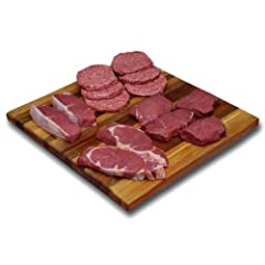 LEAN MEAT: Bison is incredibly lean, high in protein & low in calories when compared to other meats USDA TESTED: We use only premium, ranch-raised, grain-finished buffalo free of hormones & stimulants COMBO PACK: Sample the best bison cuts; 2 - 10 oz...