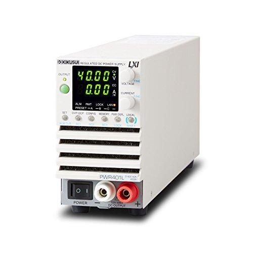 菊水電子工業コンパクト・ワイドレンジ直流安定化電源PWR401L(400W、0~40V/0~40A)