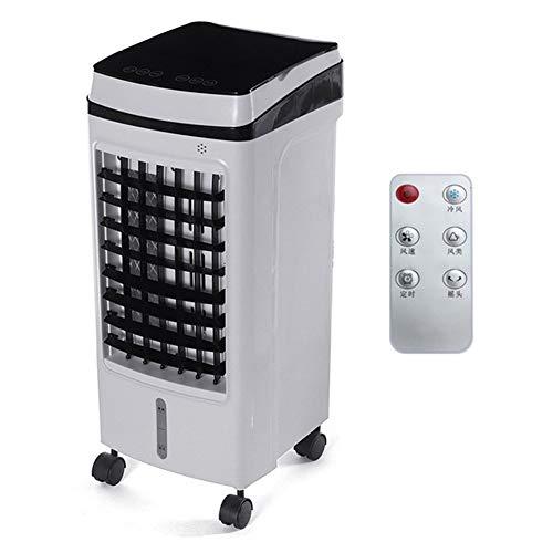 Aire acondicionado portátil Refrigerador de aire Aire acondicionado portátil 75W Acondicionamiento Ventilador Humidificador Refrigerador 15L Tanque de enfriamiento Tiempo 3 modos de ventilador Humidif
