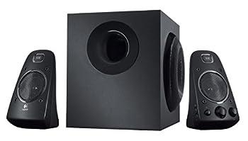 Logitech Z623-200 Watt Speaker System 980-000402  Black   Renewed