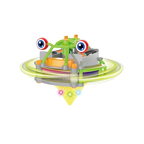 Mini Spinning Top Giroscopios para juguetes de fiesta de los niños, juguetes de equilibrio de carretilla de caminata de cuerda de color aleatorio