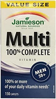 Jamieson 100% Complete Multivitamin for Men 50+ , 150 caplets