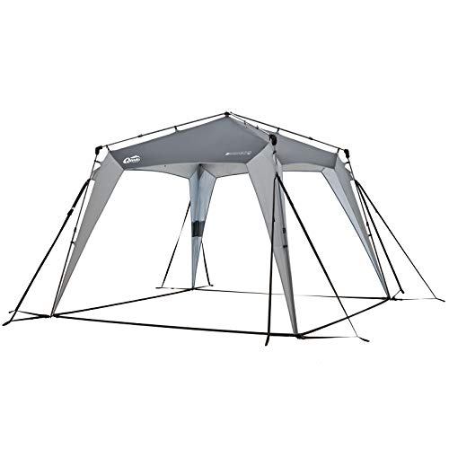 Qeedo Camping Pavillon Quick Space, Extrem Windstabil, Schneller Aufbau