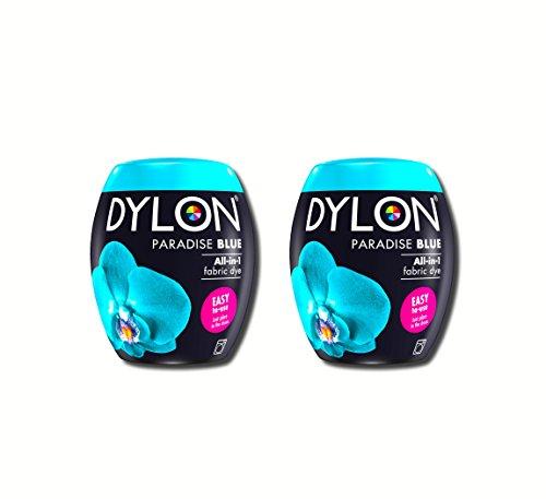 Neue Dylon 350g Paradies Blau Maschinenfarbstoff Aushülsen 2 Pack