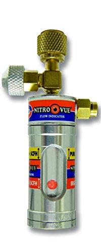 Uniweld NV1 NitroVue Nitrogen Flow Indicator, gold/silver, 7.7 oz.