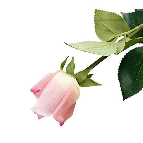 Jia HU Lot de 6 fleurs artificielles Larkspurs arrangements Maison Plante Violet Craft Mariage Home Decor violet