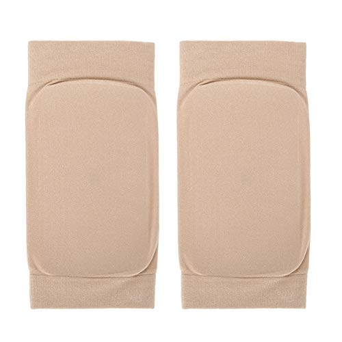 Pwshymi 1 par hälspricka strumpa andningsbart fotskydd silikon för ankelområde för skydd (fyrkantig silikon)
