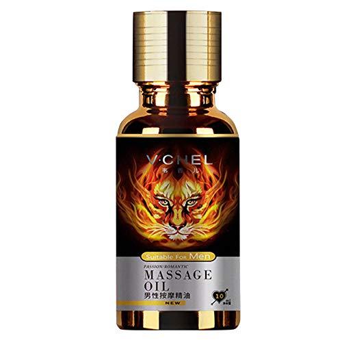 Vovotrade Adulte Hommes Épaississement augmentation huiles essentielles Essence de massage Appel produits sexe Parties privées Usage externe Huile Extension Retardée Version améliorée élargi à usage