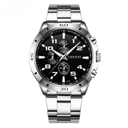 Hombres Relojes Analógicos Militares Hombres Relojes Impermeable Reloj de Cuarzo Reloj de Pulsera Masculino Relogio Masculino Negro