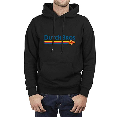 Dutch-Bros-Coffee-Logo- Sweatshirts for Men Comfort Shirt Sweatshirt Casual Hoodie