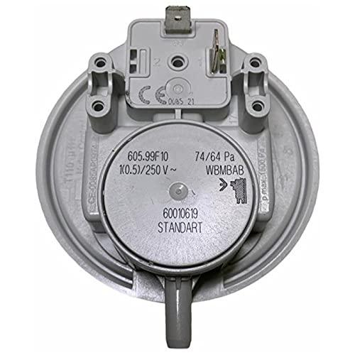 KG-Part Interruptor de presión de aire Huba 74/64-87186456530 para Buderus, Bosch