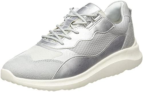 Geox D DIODIANA G, Zapatillas Mujer, Silver Ice, 41 EU