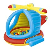 Best Way Play Center Elicottero Cm 140X127X89, Include 50 Palline 452, Multicolore, 6942138934694