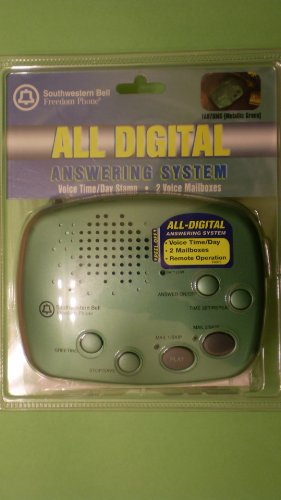 SOUTHWESTERN BELL FA-970 Digital Answering System with 2 Voice Mailboxes