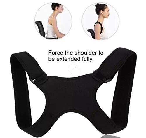 REDBAX Corrector de Postura de Espalda para una postura saludable, tamaño ajustable para hombres y mujeres