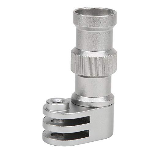 Fiets Camera Beugel, Aluminium Actie Camera Fiets Clip Houder Standaard, Bewegingscamera Fietsbeugel Vaste Beugel, voor Hero Sportcamera, Zilver