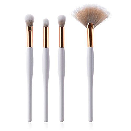 Fablcrew Pinceaux de maquillage Professionnel 4pcs Set/Kit Cosmétique Brush Beauté Maquillage Brosse Makeup Brushes Cosmétique