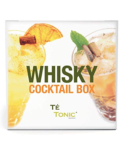 Whisky cocktail lover cadeau box, botanicals Set voor heerlijke Whiskey Cocktails - Te Tonic experience