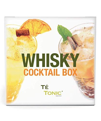 Whisky cocktail lover cadeau box, botanicals Set voor heerlijke Whiskey Cocktails - Te Tonic experience