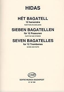 Sieben bagatellen fur 12 posaunen