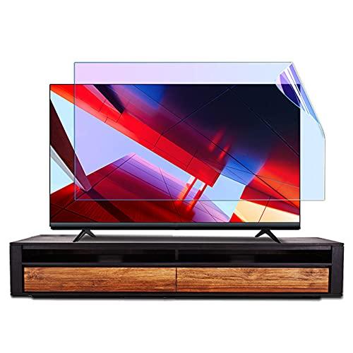 WSHA Película antideslumbrante/antiazul/antiarañazos Protector de Pantalla de TV de 32-75 Pulgadas para LCD, LED, 4K OLED y Pantallas Curvas,50 Inches(1095x616mm)
