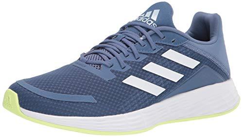 adidas Women's Duramo SL Running Shoe, Crew Blue/White/Halo Blue, 9.5