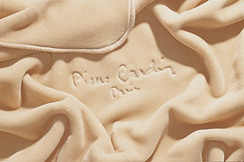 Pierre Cardin Nancy Coperta, 85% Acrilico Dralon 15% Poliester, Osso, 240x 260cm
