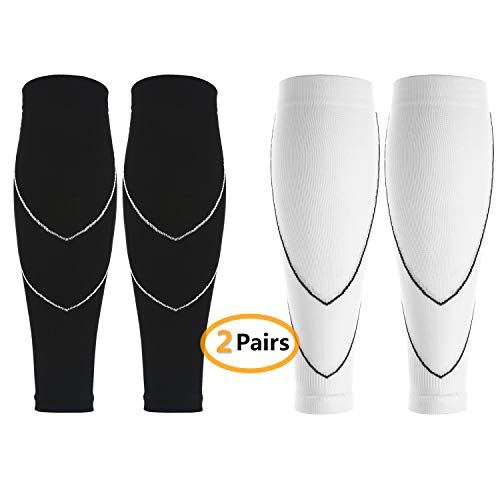 Lot de 2 Paires Manchon de Compression pour...