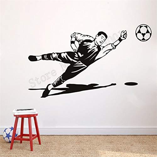 Yaonuli Keepersdecoratie beroemd voetbal spel sport muursticker vinyl kunst afneembare muurposter schoonheid moderne kaart