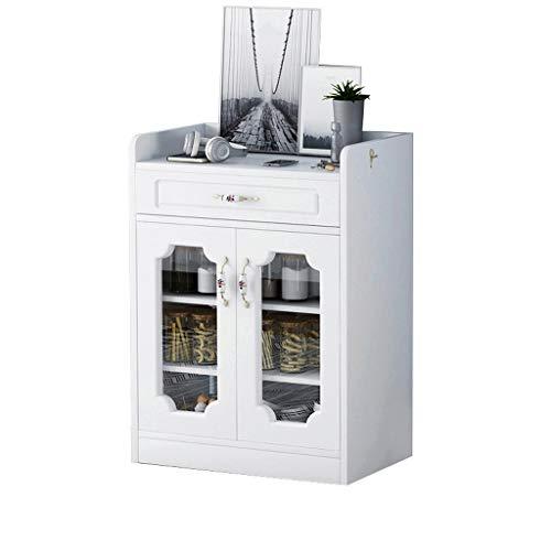 Hogar Sencillo Restaurante Aparador Microondas Horno Horno Gabinete Gabinete Gabinete de té y Moderno Armario Estar Espacio de Almacenamiento del gabinete de Cocina Tazón 90X40X90cm