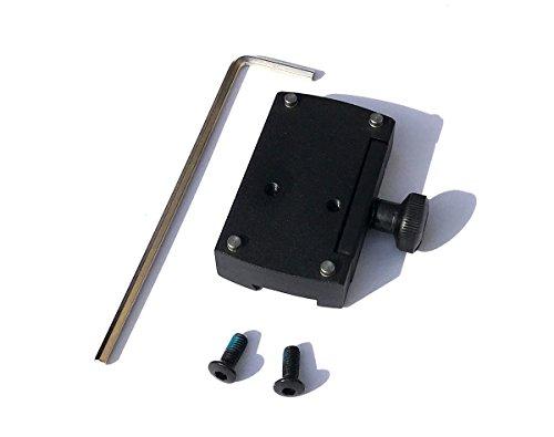 VECTOR OPTICS Adapter 11mm Montageplatte auf Dovetail Schiene für DOCTER Sight C / II / III , Vector Sphinx