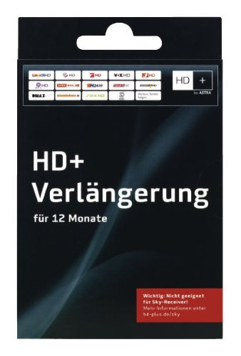 HD+ Verlängerung für 12 Monate