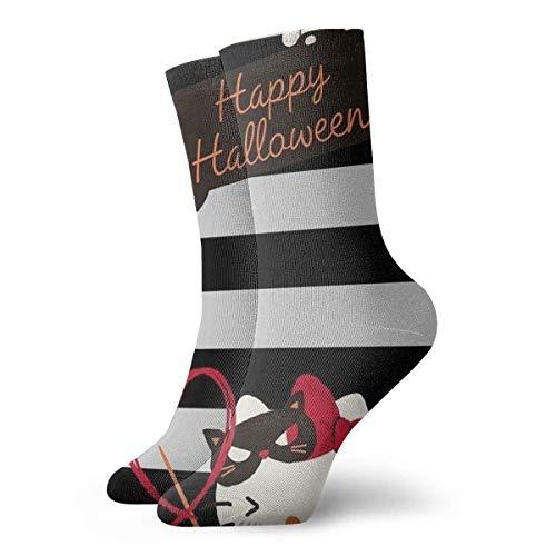 Calcetines de compresión para hombre, diseño de Hello Kitty