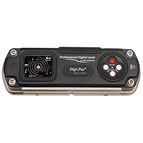 Digi de PAS DWL 8500X y Bluetooth–äzise Precisión digital de 2ejes nivel de agua con ángulo de precisión 1segundo (0,005mm/m)