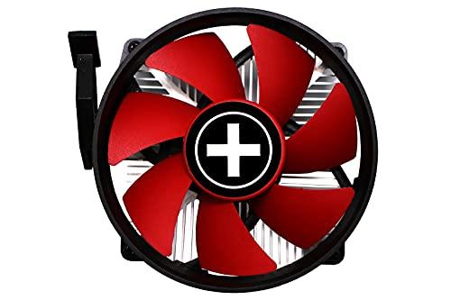 Xilence A250PWM Ventilateur, Refroidisseur et radiateur Processeur 9,2 cm Noir, Rouge