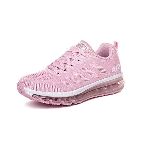 Zapatillas Hombre Deportivas de Mujer Zapatos Running Fitness Gym Outdoor Sneaker Casual Mesh T...