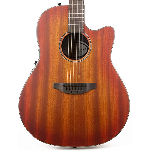 Ovation Main Street Balladeer Acoustic Electric Guitar Mahogany Burst with
