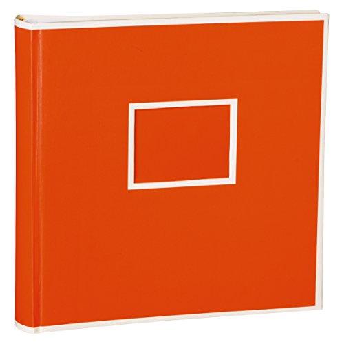 Jumbo Album orange + + + 50FEUILLES Papier Cartonné beige AVEC Pages d 'intercalaires + + + Petit Album Photos POUR ENCOLLER des Photos + + + qualité Originale Semikolon