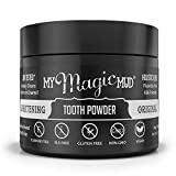 My Magic Mud - Whitening Tooth Powder, Polishing, Brightening, Charcoal, Original, 1.06 oz. (150 uses)