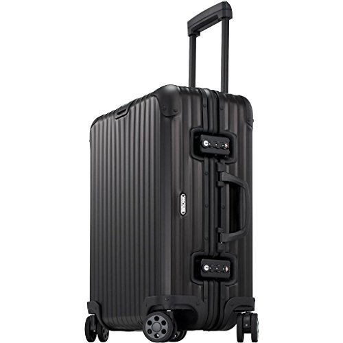 Rimowa Topas Stealth IATA Luggage 22' inch Multiwheel 45.0 L Matte Black