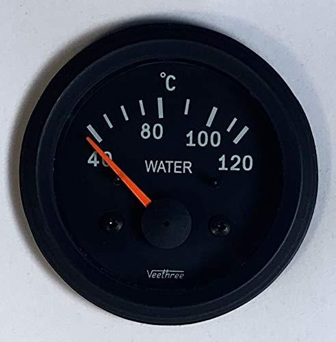 Veethree 277227 Wassertemperaturmessgerät Elec (B/B) mit Sender