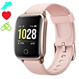 Smartwatch Cronometro Orologio Fitness Donna Uomo, Smart Watch GPS Fitness Tracker Impermeabile IP68 Cardiofrequenzimetro da Polso ECG Sveglia, Activity Tracker Sport Contapassi Bambini Android iOS