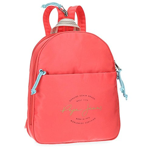 Pepe Jeans Yoga Red Casual Backpack