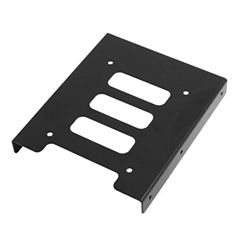 "sourcing map 2.5""a 3.5"" SSD HDD Montaje Adaptador Kit Soporte Disco Duro Soporte por PC Caso"