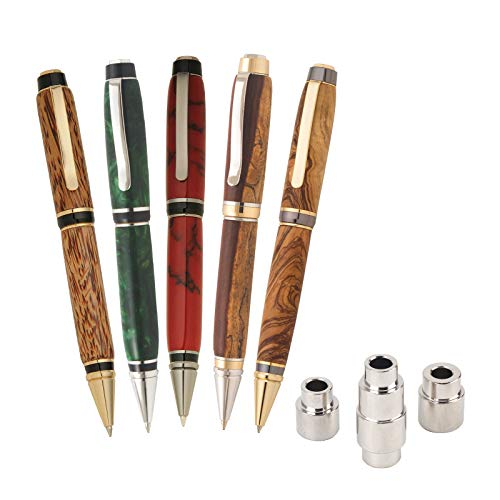 Penn State Industries PKBIGSS2 Big Ben Cigar Twist Ballpoint Pen Kit Starter Package Woodturning Project