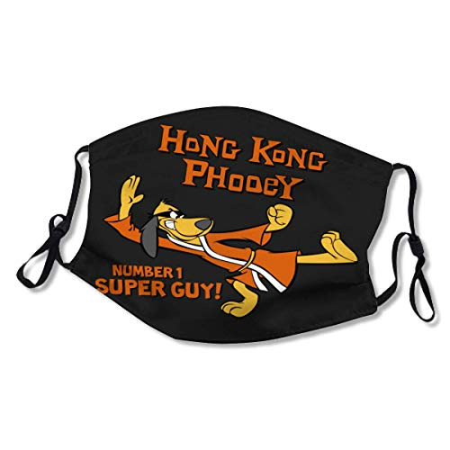 Hong Kong Phooey XL Face Mask Dust Mask Filter Pocket Face Coverings Layers Reusable & Washable (2 Filters)