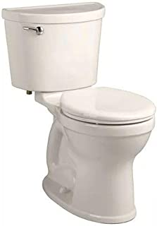 American Standard 211BA.104.222 Champion Pro 1.28 GPF 2-Piece Round Front Toilet with 12-In Rough-In, Linen
